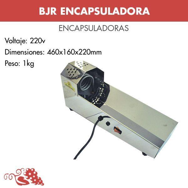 Encapsuladora horizontal para termocápsulas