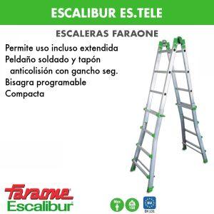 Escalera faraone escalibur ES.TELE