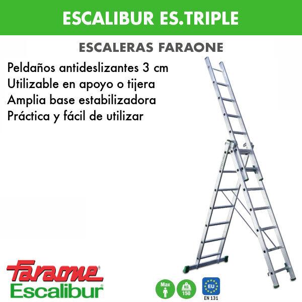 escalera-faraone-escalibur-es-triple