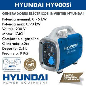 Generador inverter Hyundai HY900Si