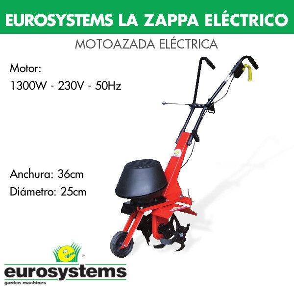 motoazada Eurosystems la zappa electrica
