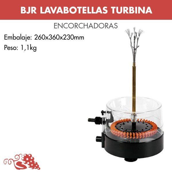 Lavabotellas turbina 15091