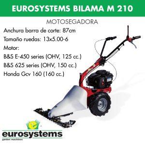 motosegadora eurosystems bilama m210