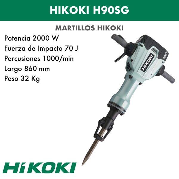 martillo demoledor H90SG