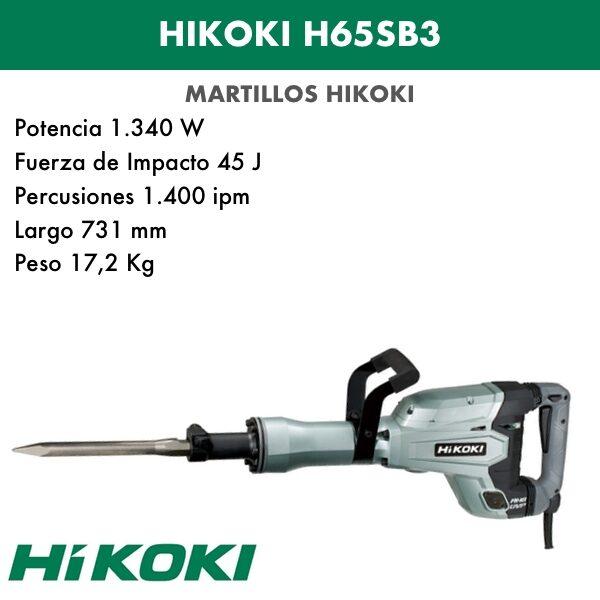 Hammer Abbruch Hikoki H65SB3