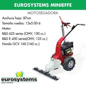 motosegadora Eurosystems minieffe