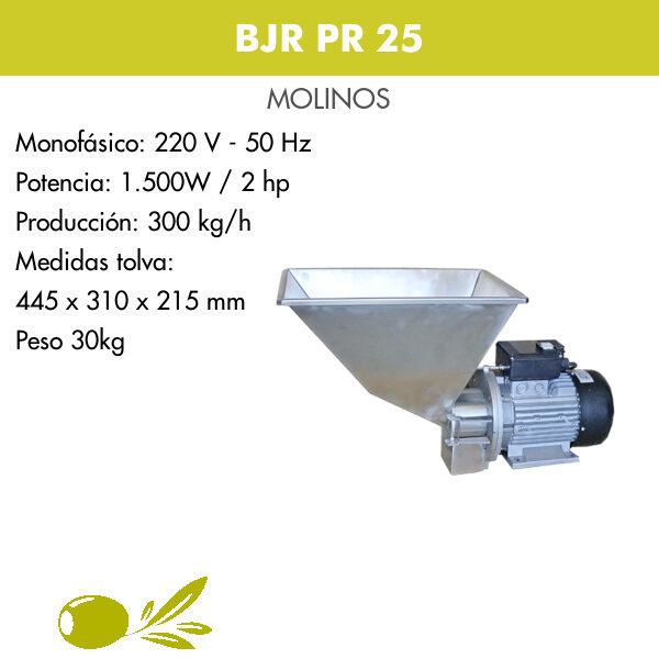 molino BJR PR25