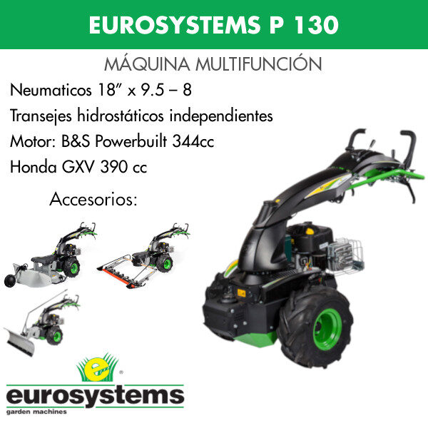 máquina multifunción eurosystems p130