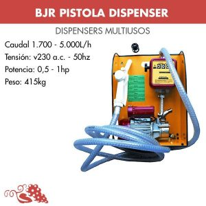 Dispensador multiuso serie NOVAX M