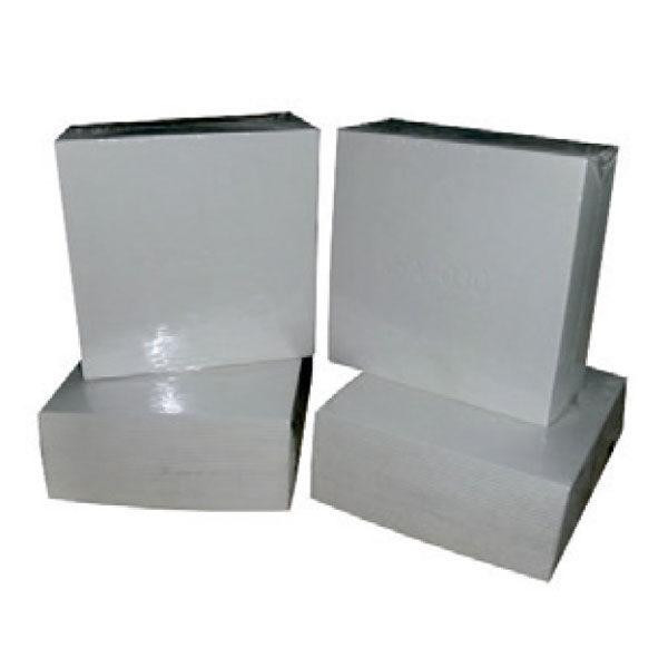 Zellulosefilterplatten 20x20cm (Packungen mit 25 Uds)