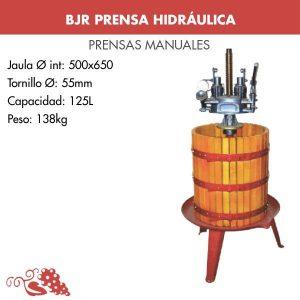 Prensa de vino hidráulica HID