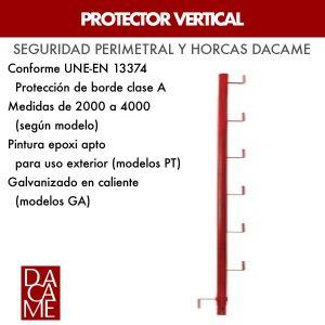Protector vertical Dacame