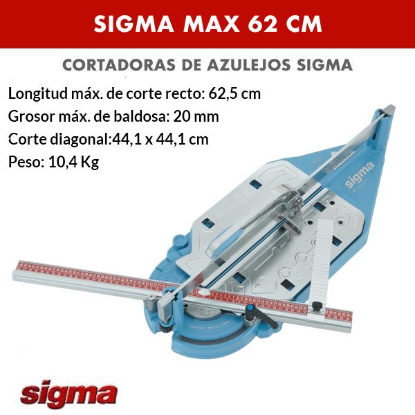 Cortadora de azulejos Sigma MAX 62 cm