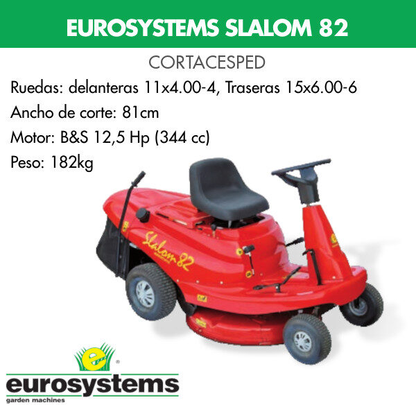 cortacesped eurosystems slalom 82