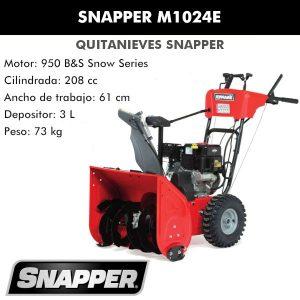 snapper m1024e