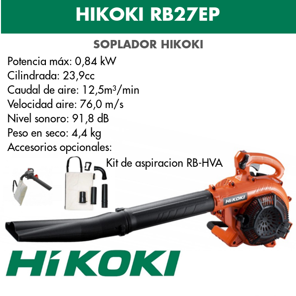 soplador HIKOKI RB27EP