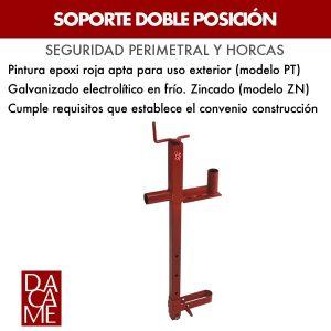 soporte doble posición Dacame