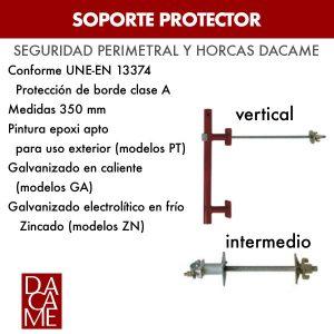 Soporte protector Dacame
