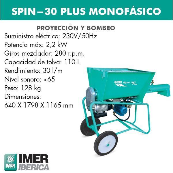 Mezclador Spin-30 PLUS Monofásico