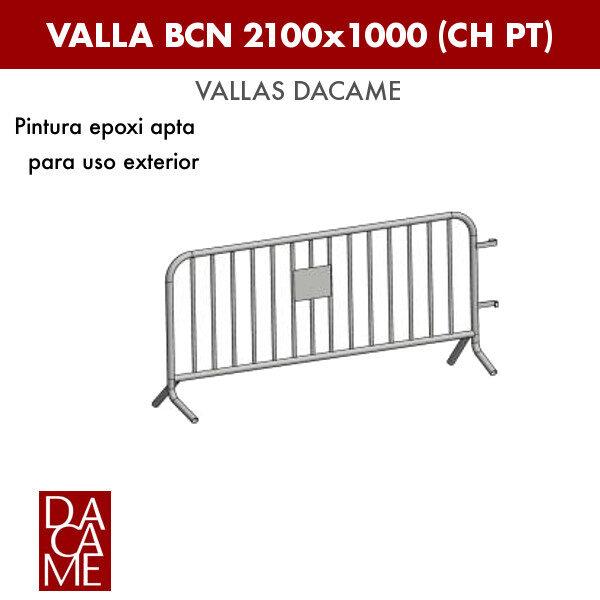 Valla Dacame BCN 2100x1000 CH PT