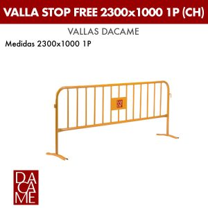 Valla Dacame Stop Free 2300x1000 1P CH