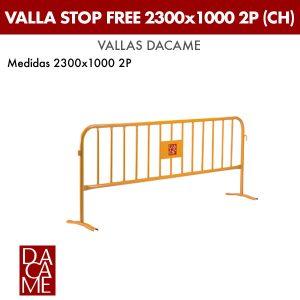 Valla Dacame Stop Free 2300x1000 2P CH