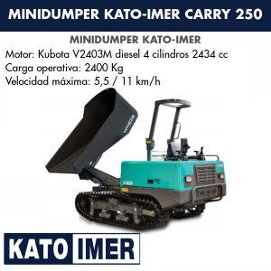 Minidumper Kato-Imer CARRY 250