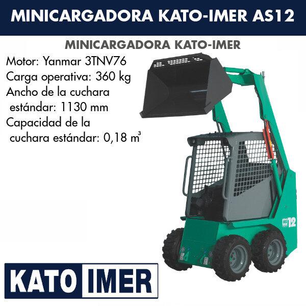 Dumper Kato-Imer IC120-2