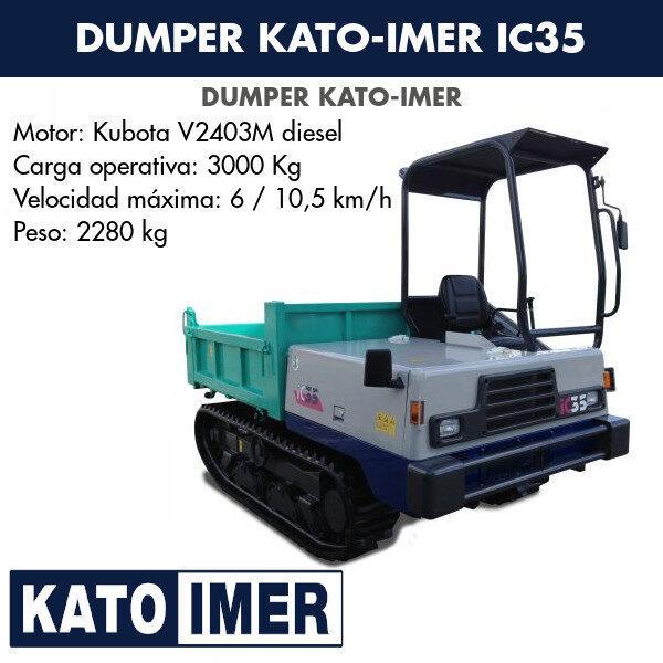 Minidumper Kato-Imer IC35