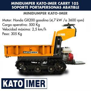 Minidumper Kato-Imer CARRY 105