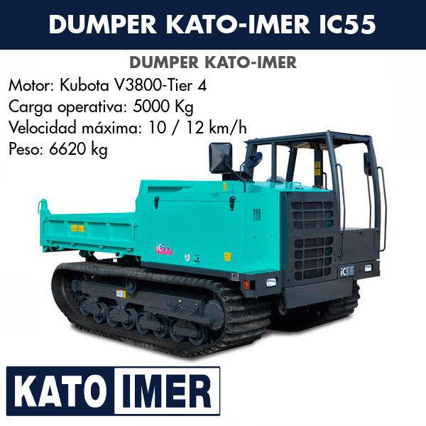 Dumper Kato-Imer IC55