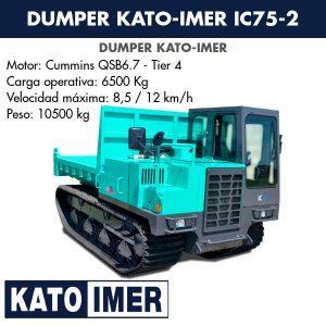 Dumper Kato-Imer IC75-2