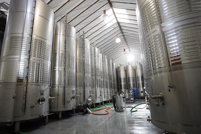 depositos de vino acero inoxidable