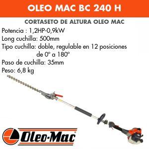 Cortasetos de altura Oleo Mac BC 240 H
