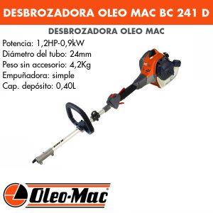 Desbrozadora Oleo Mac BC 241 D