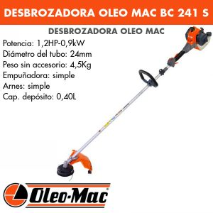 Desbrozadora Oleo Mac BC 241 S