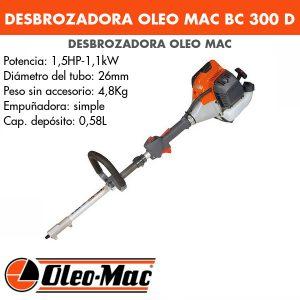 Desbrozadora Oleo Mac BC 300 D