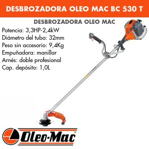 Desbrozadora Oleo Mac BC 530 T