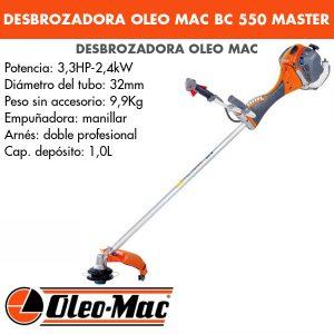 Desbrozadora Oleo Mac BC 550 MASTER