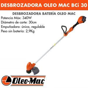 Desbrozadora Oleo Mac BCi 30