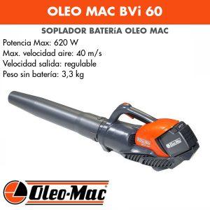 Soplador Oleo Mac BVi 60