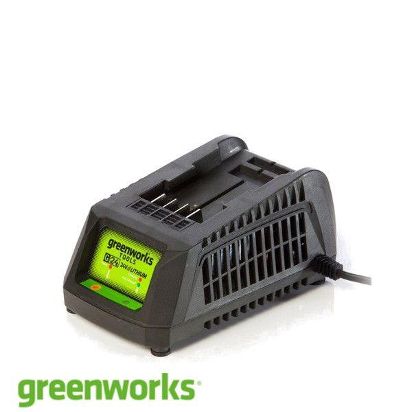 Universal charger Greenworks G24UC 24 V