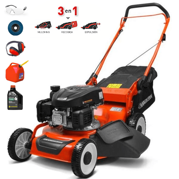 WEIBANG WB 455HCR 139cc Lawn Mower 3 in 1 Function