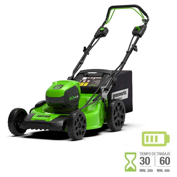 Cortacesped batería Greenworks GD60LM46SP