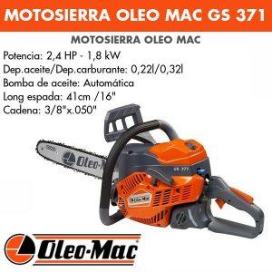 Motosierra Oleo Mac GS 371
