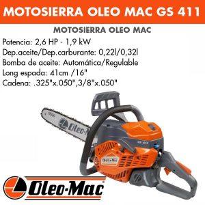 Motosierra Oleo Mac GS 411