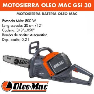 Motosierra Oleo Mac GSi 30