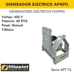 Generador eléctrico filippini AP40TL