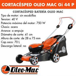 Cortacésped Oleo Mac BC Gi 44 P