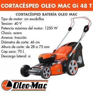 Cortacésped Oleo Mac BC Gi 48 T